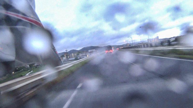 名阪国道に入ります