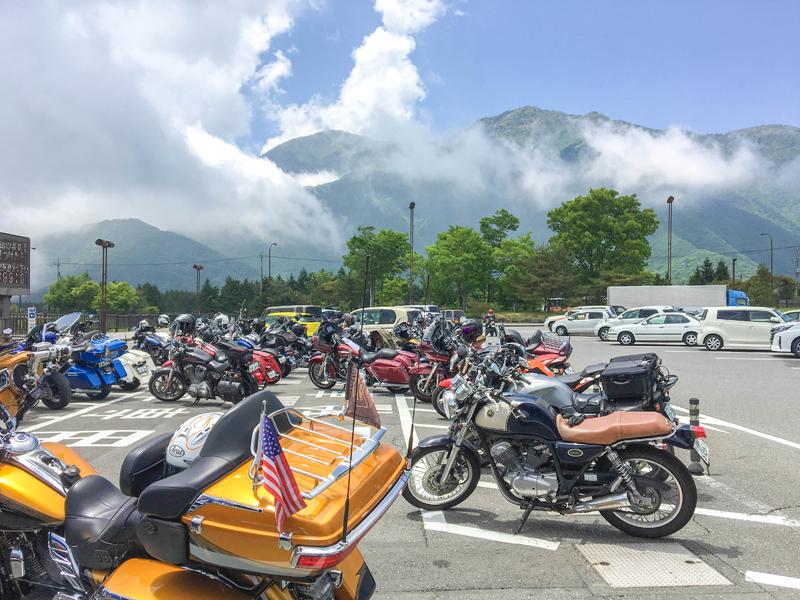 道の駅 朝霧高原に到着