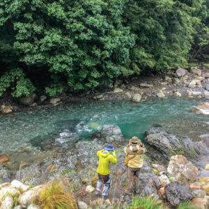 渓流釣りキャンプ 2日目 -前編-